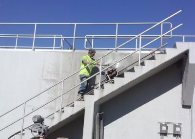 Treatment Plant WS Stair case (1)